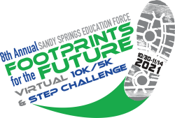 Support Sandy Springs Education Force Footprint For The Future 10K / 5K / and STEP Challenge
