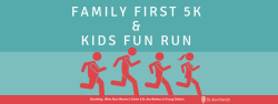 St. Ann Family First 5k and Fun Run