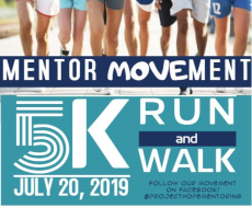 Project Hope's Mentor MOVEment 5K, sponsored by Healthy Adams County