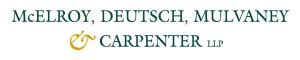 McElroy, Deutsch, Mulvaney & Carpenter LLP
