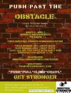 Push Past the Obstacle Course Bootcamp training session March 11 - April 3