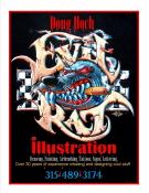 Doug Hoch Evil Rat Illustration