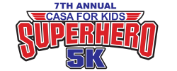 7th Annual CASA For Kids 5K Superhero Run/Walk