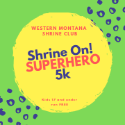 Shrine On! SUPERHERO 5k