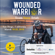 Navy Wounded Warrior Trials Volunteers