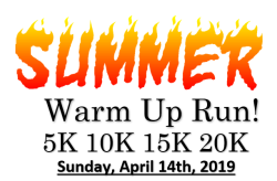 Eastern Dutchess Road Runners Club -Summer Warm Up Run 5K 10K 15K 20K