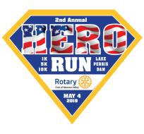 3rd Annual Rotary Hero Run