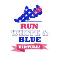 Virtual Staley RUN White & Blue