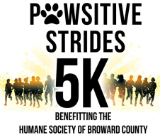 PAWSITIVE STRIDES 5K