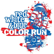 Red, White, and Blue Color Run