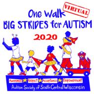 One Walk, Big Strides for Autism 2020