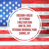 Freedom 4 miler by Fit4Run by Fit4my4