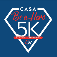 Virtual CASA Be a Hero 5k