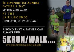Shreveport Father's Day 5k run/ walk