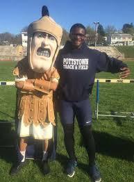 Pottstown High School Trojan Man