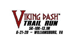 2020 Viking Dash Trail Run Williamsburg - 6.21.20