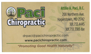 Paci Chiropractic, Inc.