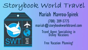 Mariah Spirek - Disney Planner