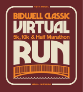 Virtual Bidwell Classic 5K, 10k and Half Marathon