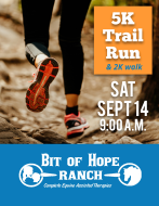Bit of Hope Ranch 5K Trail Run