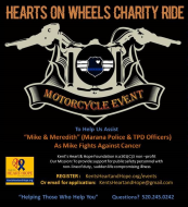 Hearts On Wheels Charity Motorcycle Ride