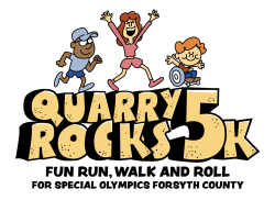 Virtual Quarry Rocks 5K and 1 Mile Fun Walk & Roll for Special Olympics Forsyth County