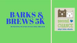 Barks and Brews 5K Fun Run