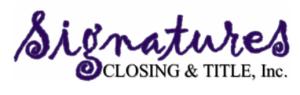 Signatures Closing and Title, LLC