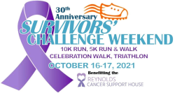 Survivors' Challenge 10K Run | 5K Run & Walk | Celebration Walk & Triathlon