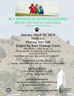 BE A DEFENDER OF POTENTIAL FOR KIDS: BRUCE'S BIG BUTTE CHALLENGE