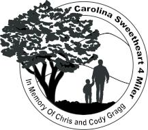 Carolina Sweetheart 4 Miler In Memory of Chris and Cody Gragg