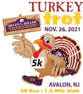 Helen L. Diller Vacation Home for Blind Children Turkey Trot 5K Run/1.5 Mile Walk