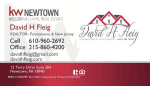 David Fleig, KW Newtown