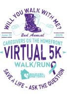 Will You Walk With Me for Suicide Prevention Virtual 5K