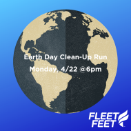 Earth Day Clean-Up Run at Fleet Feet Poughkeepsie