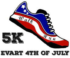 Evart 4th of July 5K walk/run