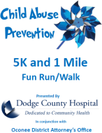 Child Abuse Prevention 5K and 1 Mile Fun Run and Walk