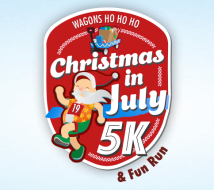 Christmas in July 5K benefiting Wagons Ho Ho Ho