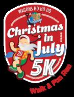Christmas in July 5k Walk Fun Run (and VIRTUAL) benefits Wagons Ho Ho Ho