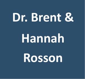 Dr. Brent and Hannah Rosson