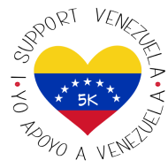 5K for Venezuela - North Carolina 2020