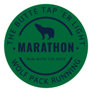 "The Butte ""Tap 'er Light"" Marathon and 1/2 Marathon"