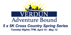 Verdun Adventure Bound Tuesday Night 5 x 5K Spring Series