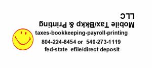 Mobile Tax/Bkkp & Printing, LLC