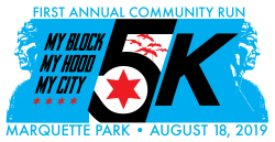 My Block, My Hood, My City First Annual Community Run in Marquette Park