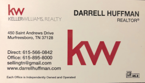 Darrell Huffman - KW Real Estate