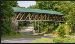 Andover  Rails to Trail Bridge 5K Run #4