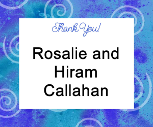 Rosalie and Hiram Callahan