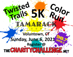 The Charity Challenge Twisted Trails 5K Color Run