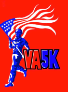 Virtual Veterans VA5K Logo